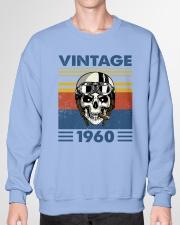 Vintage 1960 - White Version Crewneck Sweatshirt garment-crewneck-sweatshirt-front-01