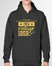 Let you know I'm a vintage 1959 Hooded Sweatshirt garment-hooded-sweatshirt-front-04