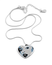 AP XXIII Metallic Heart Necklace aos-necklace-heart-metallic-lifestyle-03