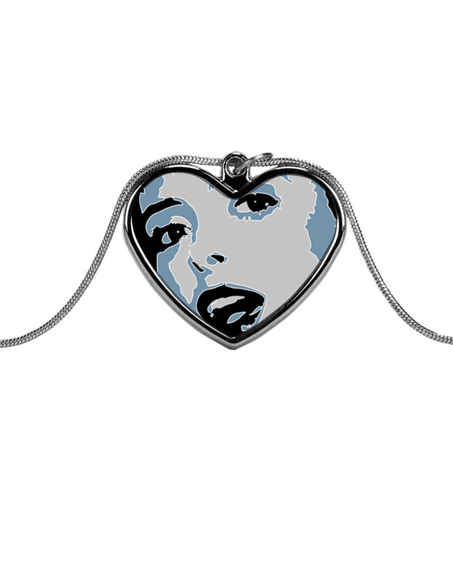 AP XXIII Metallic Heart Necklace
