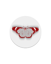 Frail Butterfly Circle Magnet thumbnail