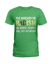 Popular protest sign - Limited Availability Ladies T-Shirt front