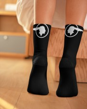 Shawns Wedding Sox Crew Length Socks aos-accessory-crew-length-socks-lifestyle-back-01