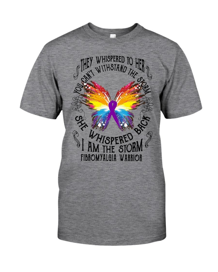 I am the Storm - Fibromyalgia Warrior Classic T-Shirt