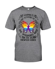 I am the Storm - Fibromyalgia Warrior Classic T-Shirt front