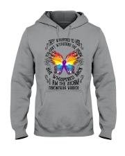 I am the Storm - Fibromyalgia Warrior Hooded Sweatshirt thumbnail