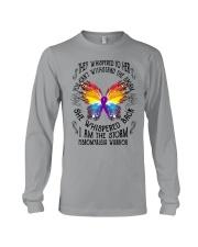 I am the Storm - Fibromyalgia Warrior Long Sleeve Tee thumbnail