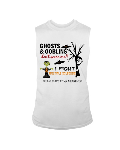 Ghosts and goblins don't scare me - I fight MS