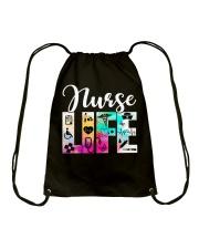 Nurse Life Drawstring Bag thumbnail