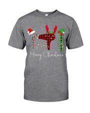 Merry Christmas Hairstylist Classic T-Shirt front