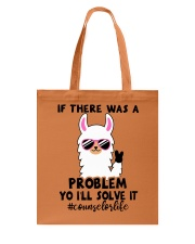 If there was a problem I'll solve it Tote Bag tile