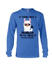 If there was a problem I'll solve it Long Sleeve Tee thumbnail