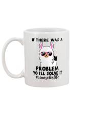 If there was a problem I'll solve it Mug back
