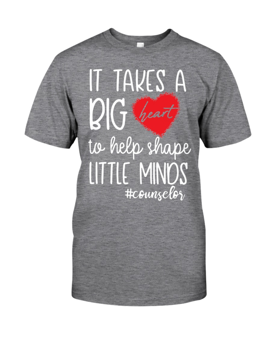 It takes a big Heart to help shape little minds Classic T-Shirt