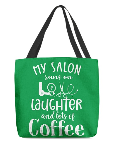 My salon runs on love