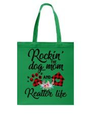 Rockin the dog mom and realtor life Tote Bag thumbnail