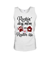 Rockin the dog mom and realtor life Unisex Tank thumbnail