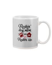 Rockin the dog mom and realtor life Mug thumbnail