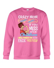Crazy Mom Crewneck Sweatshirt thumbnail