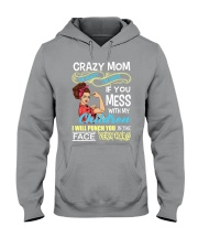 Crazy Mom Hooded Sweatshirt thumbnail
