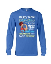 Crazy Mom Long Sleeve Tee front