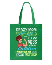 Crazy Mom Tote Bag thumbnail