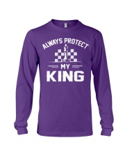 Always Protect My King Long Sleeve Tee front