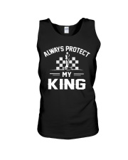 Always Protect My King Unisex Tank thumbnail