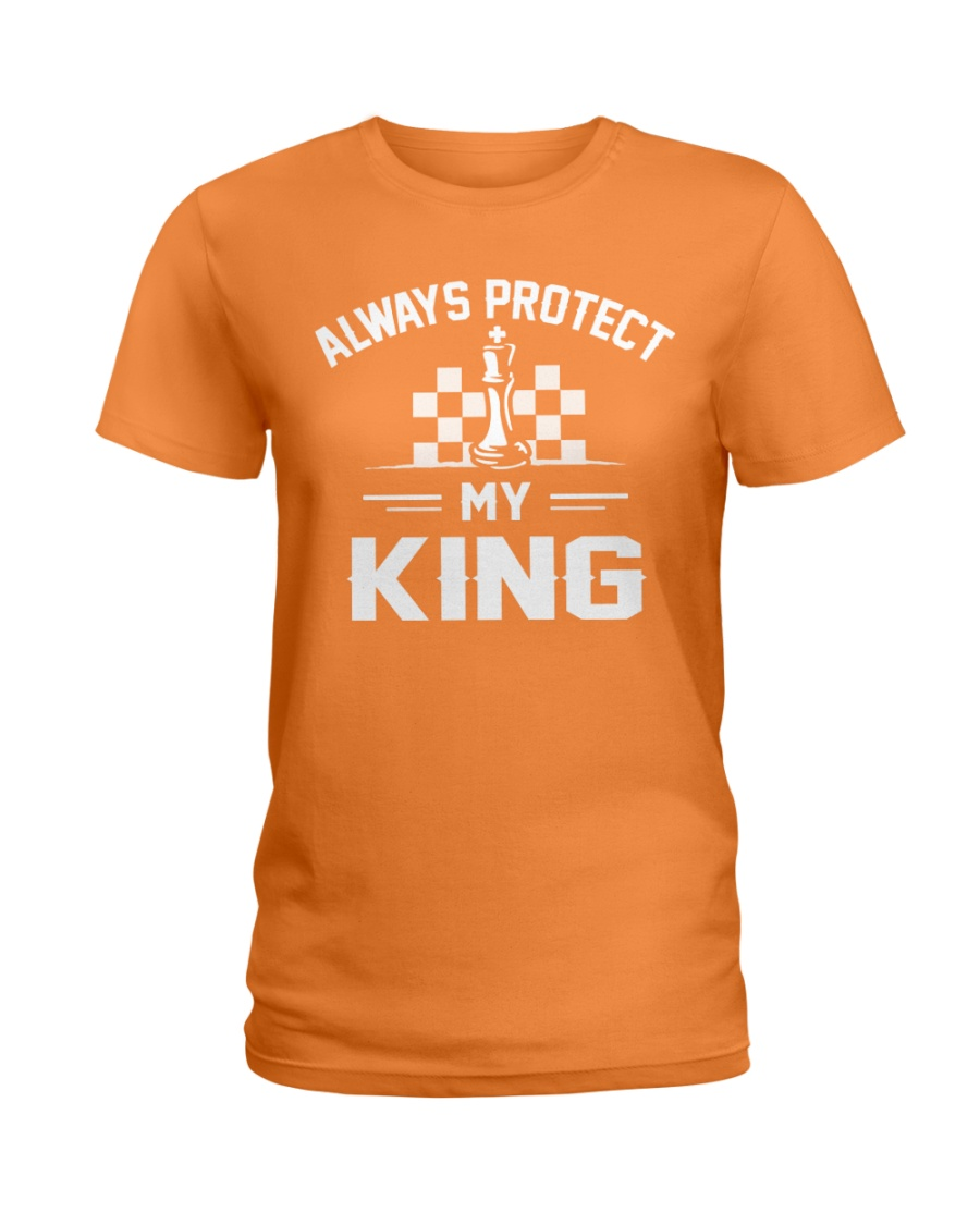Always Protect My King Ladies T-Shirt