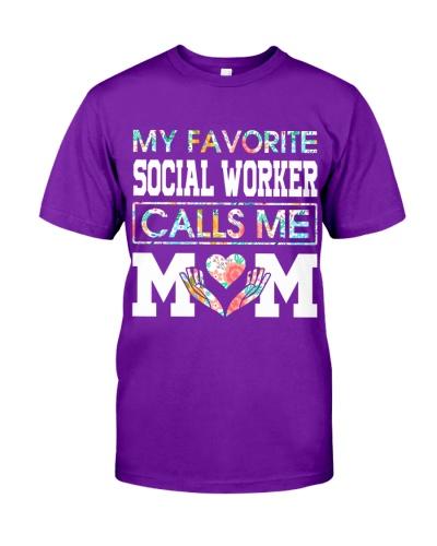 My favorite Social Worker calls me Mom