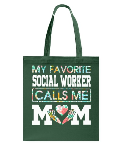 My favorite Social Worker calls me Mom