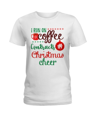 I run on coffee contracts and christmas cheer