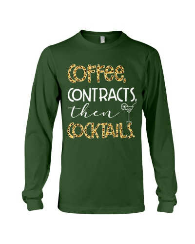 coffee contracts then cocktails