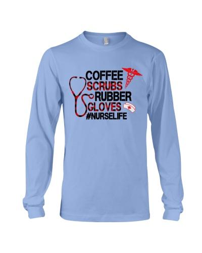 Coffee Scrubs Rubber Gloves