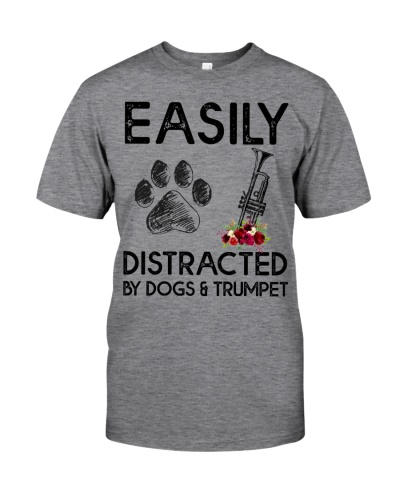 Easily Distracted by Dogs and trumpet