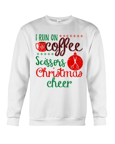 I run on coffee scissors and christmas cheer