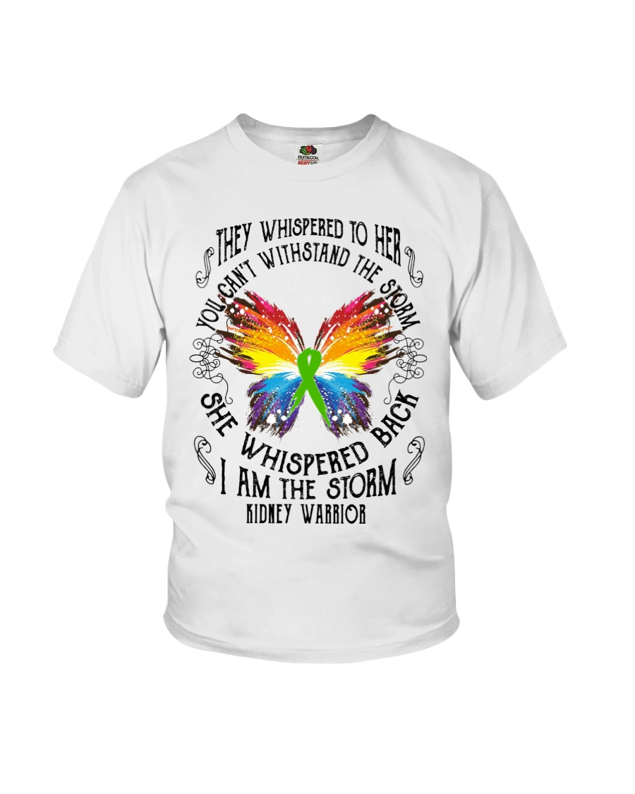 I am the Storm - Kidney Warrior Youth T-Shirt