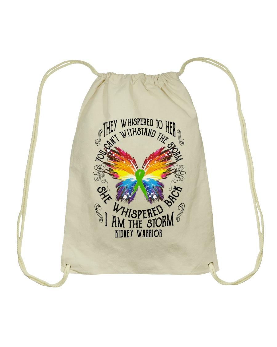I am the Storm - Kidney Warrior Drawstring Bag