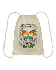 I am the Storm - Kidney Warrior Drawstring Bag front
