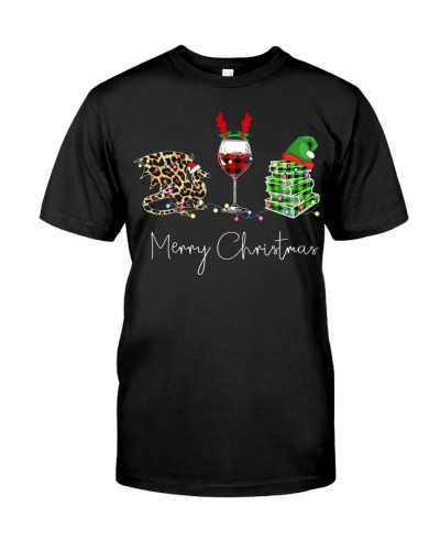 Merry Christmas Dragon Wine Books