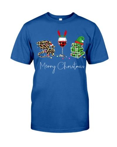 Merry Christmas Dragon Wine Books