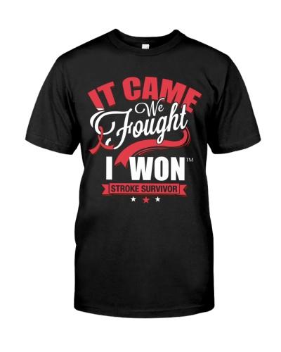 It came We fought I won