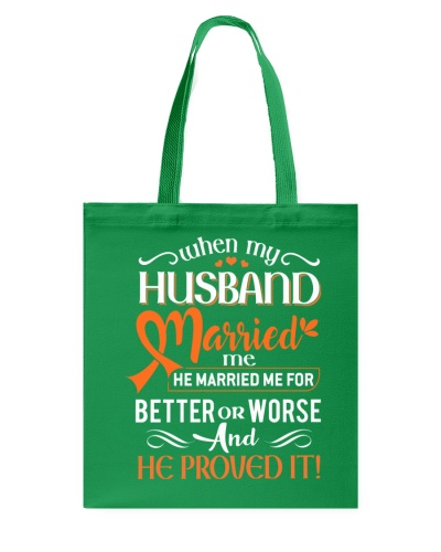 When my husband married me for better or worse