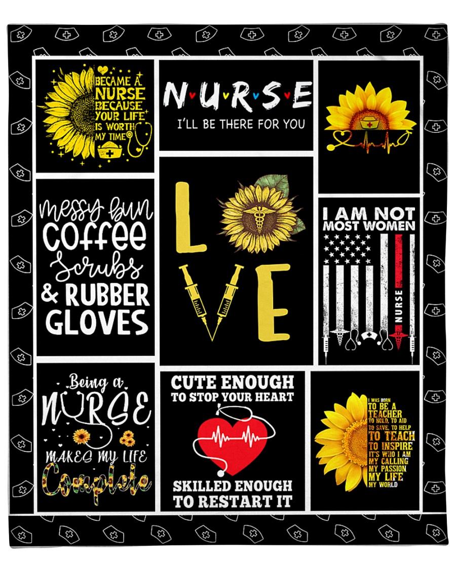 """Love Nurse Fleece Blanket - 50"""" x 60"""""""