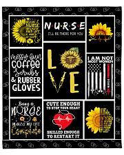 "Love Nurse Fleece Blanket - 50"" x 60"" front"