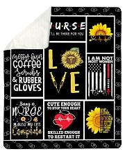 "Love Nurse Sherpa Fleece Blanket - 50"" x 60"" thumbnail"