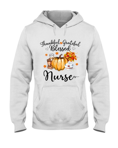 Thankful Grateful Blessed Nurse