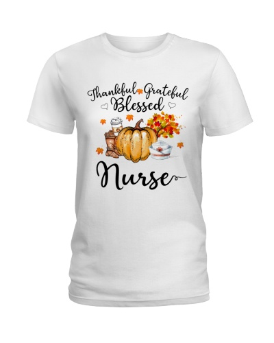 Thankful Grateful Blessed Nurse