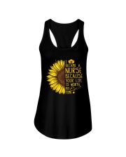 I became a Nurse because your life is worth my tim Ladies Flowy Tank thumbnail