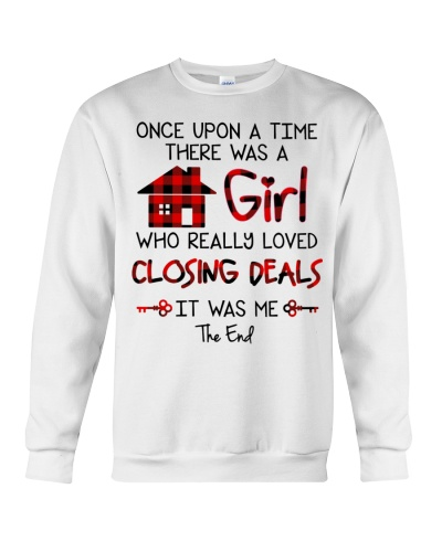 There was a girl who really loved closing deals